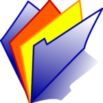 Multi Colored Folders